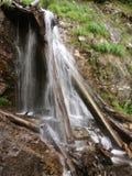 cascade à écriture ligne par ligne Photo stock