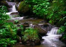 Cascade à écriture ligne par ligne Autriche Images stock