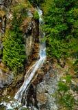 Cascade à écriture ligne par ligne, crique de gorge, cascades du nord, Washington Image stock