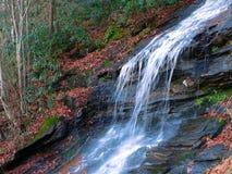 cascade à écriture ligne par ligne d'automne Photo libre de droits