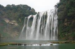 Cascade à écriture ligne par ligne dans Guizhou photo stock