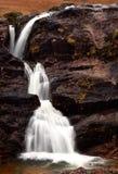 Cascade à écriture ligne par ligne de Glencoe Photo stock