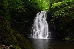 Cascade à écriture ligne par ligne de Glencoe Photos libres de droits