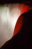 cascade à écriture ligne par ligne de groupe Photographie stock