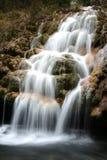 Cascade à écriture ligne par ligne de Jiuzhaigou Images stock