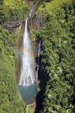 Cascade à écriture ligne par ligne de Kauai Image stock