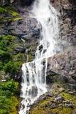 Cascade à écriture ligne par ligne de la Norvège Image stock