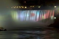 Cascade à écriture ligne par ligne de NiagaraFall Photographie stock