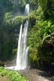 Cascade à écriture ligne par ligne de Sindang Gila Lombok Images libres de droits