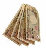 Cascade à écriture ligne par ligne de Yens images libres de droits
