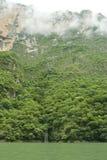Cascade à écriture ligne par ligne en gorge de Sumidero Photos stock