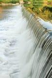 Cascade à écriture ligne par ligne, fleuve de Ninnescah Image libre de droits