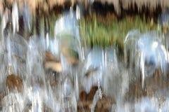 Cascade à écriture ligne par ligne trouble Photos stock