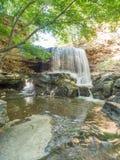 Cascade à la crique de Tanyard Image libre de droits