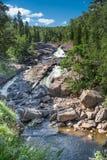 Cascade à la rivière Minnesota de castor Image stock