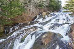 Cascade à Nikko Japon Photos stock