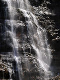 Cascade. Waterfall cascading over rocks and moss, Bridal Vail falls, Utah Royalty Free Stock Images
