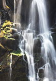 Cascade. Water cascade on Victoria waterfall in Zambia Royalty Free Stock Photo