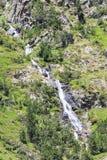 Cascade in Andorra. A cascade in Andorra in the area of Arcalis Stock Photos