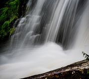 Cascade artistique de la Caroline du Nord jpg Photographie stock libre de droits