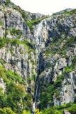 cascade autour de lac dove, montagne de berceau, Tasmanie image libre de droits