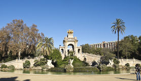 The Cascade of Barcelona, Spain. Royalty Free Stock Image