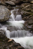 Cascade on Bash Bish Falls royalty free stock image
