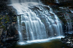 Cascade at Black River Falls Royalty Free Stock Photos