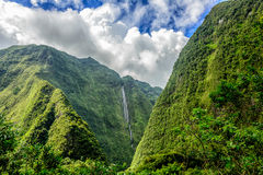 Cascade blanche, Reunion island Royalty Free Stock Photo