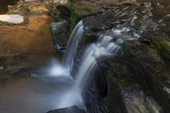 Cascade at Bozenkill Preserve. In New York stock images
