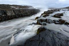 Cascade célèbre de Selfoss Photos libres de droits