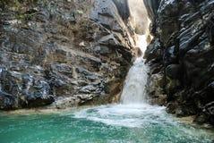 Cascade cachée en île de Sumba Photos libres de droits