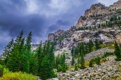 Cascade Canyon - Grand Teton National Park Royalty Free Stock Photos