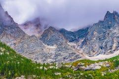 Cascade Canyon - Grand Teton National Park Stock Photography
