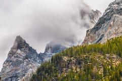 Cascade Canyon - Grand Teton National Park Stock Images