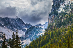 Cascade Canyon - Grand Teton National Park Royalty Free Stock Photo