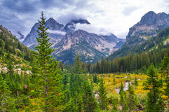 Cascade Canyon - Grand Teton National Park Royalty Free Stock Photography