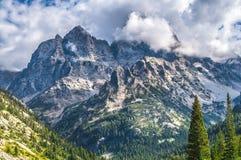 Cascade Canyon - Grand Teton National Park Royalty Free Stock Images