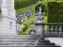 Cascade castle Linderhof Stock Image