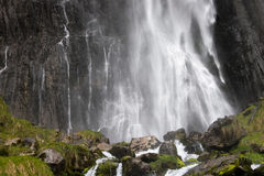 Cascade of Collados del Ason Royalty Free Stock Images
