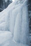 Cascade congelée Images stock