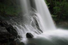 Cascade connue sous le nom de Santa Margarida Images stock