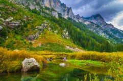 Cascade Creek - Grand Teton National Park Stock Photography