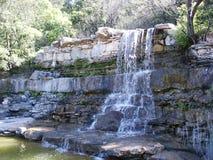 cascade à écriture ligne par ligne d'Austin Photo stock