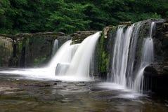 Cascade d'Aysgarth en vallées de Yorkshire Image libre de droits