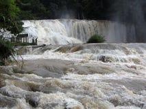 Cascade d'Azul d'Agua Images libres de droits