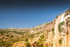 Cascade d'Imouzzer près d'Agadir, Maroc images libres de droits