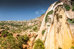 Cascade d'Imouzzer près d'Agadir, Maroc Photo libre de droits
