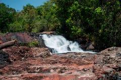Cascade d'Indaia Photographie stock libre de droits