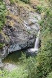Cascade dans Almese à, l'Italie Images stock